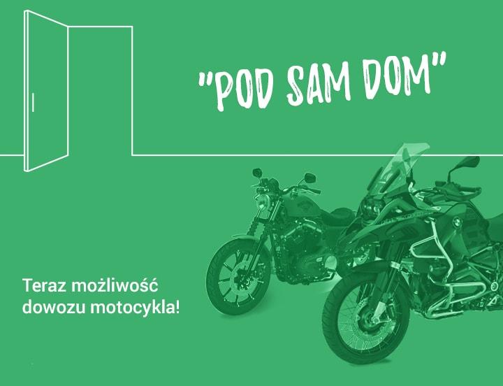 Dostawa motocykla pod dom
