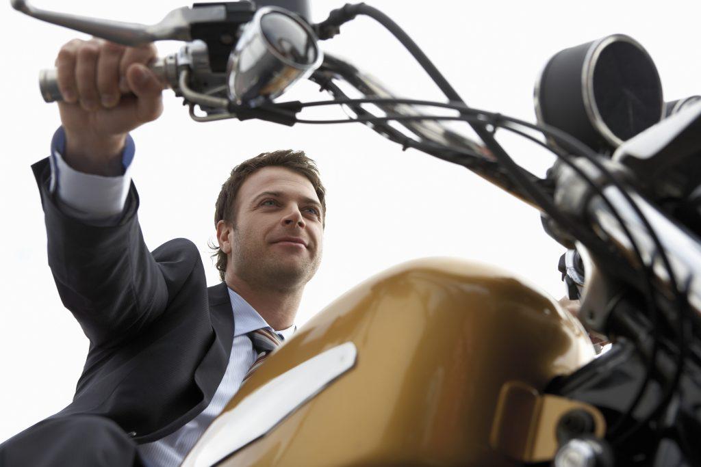 Motocykl na firmę
