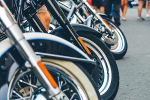 Rząd motocykli