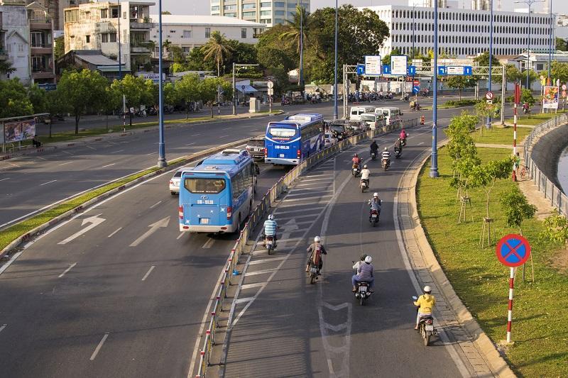 Motocykle w mieście